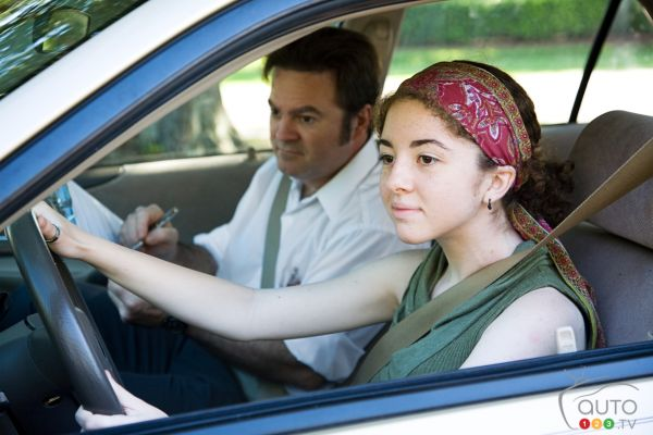 Le jour où j'ai obtenu mon permis de conduire
