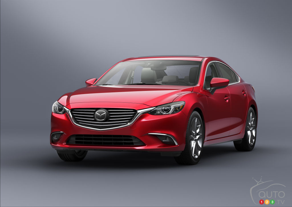Los Angeles 2014: World premiere of 2016 Mazda6