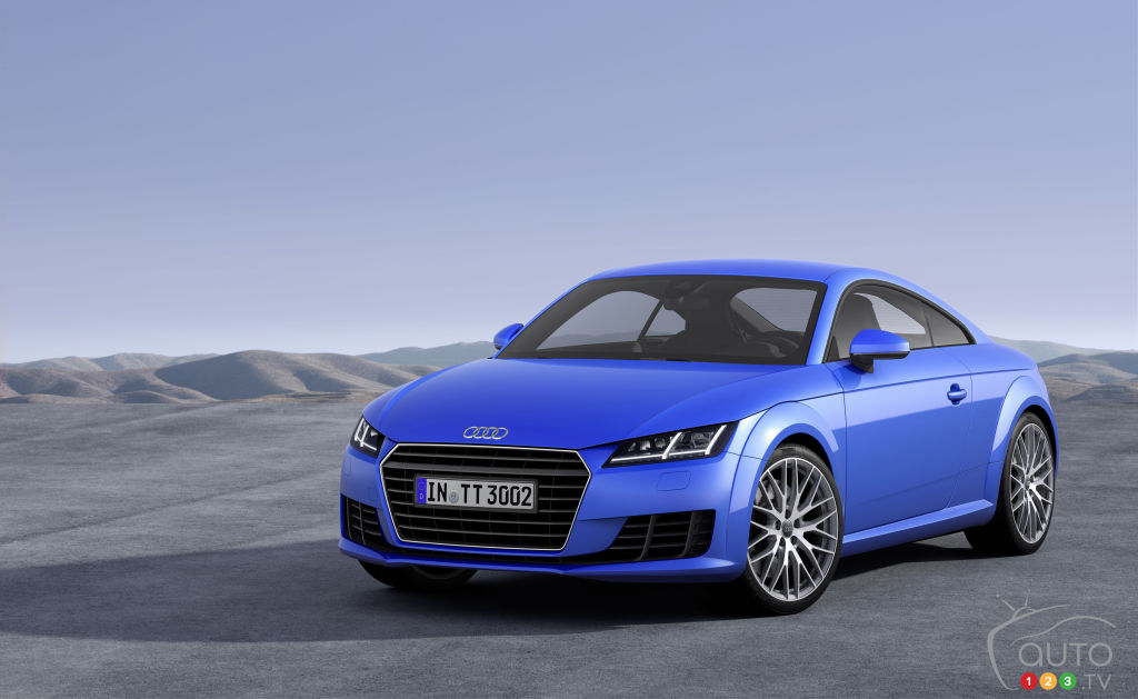 2015 Audi TT Coupé Preview