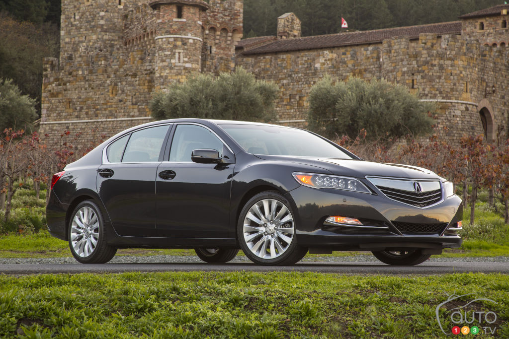 2015 Acura RLX Preview
