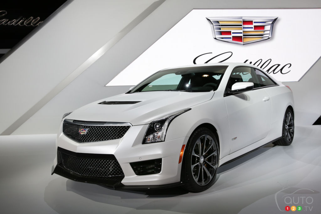 Los Angeles 2014: 2016 Cadillac ATS-V pictures
