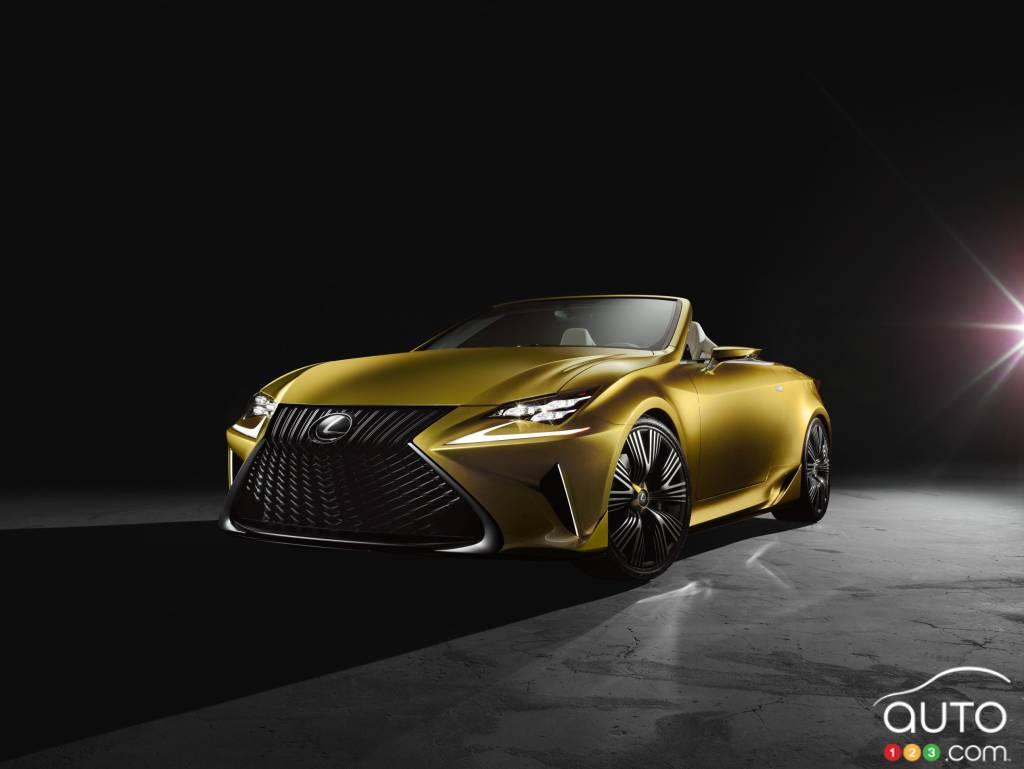 Los Angeles 2014: Lexus unveils bold LF-C2 concept