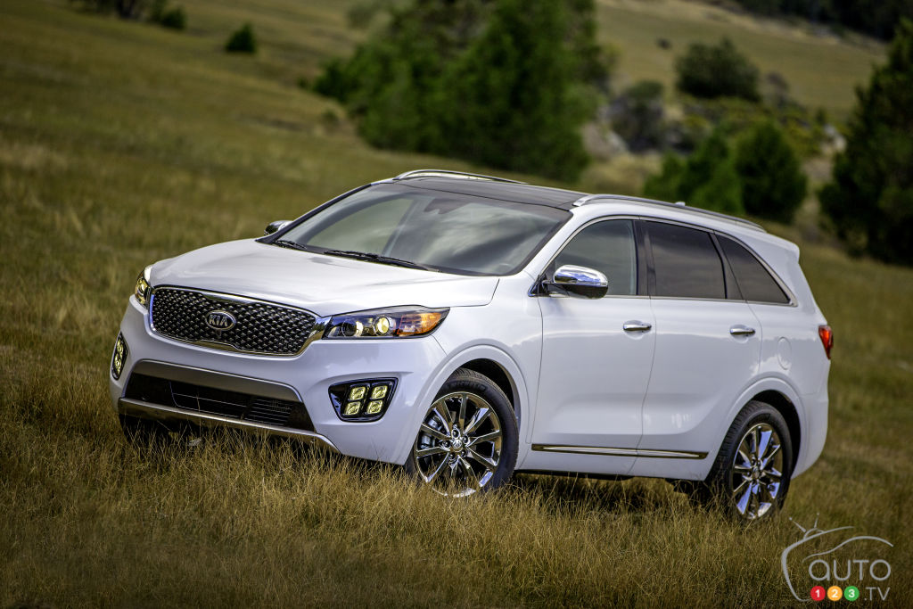 Los Angeles 2014: North American debut of 2016 Kia Sorento