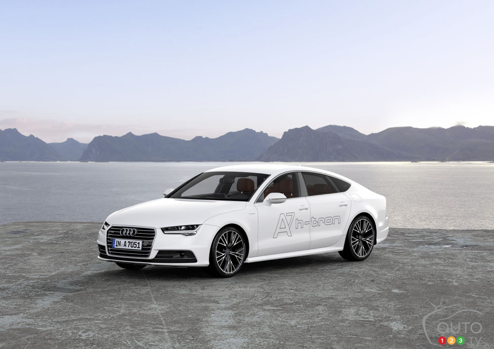 Los Angeles 2014: Audi launches A7 h-tron quattro