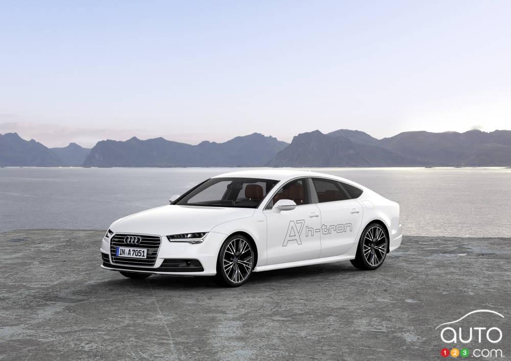 Los Angeles 2014: Audi dévoile sa A7 h-tron Sportback Quattro