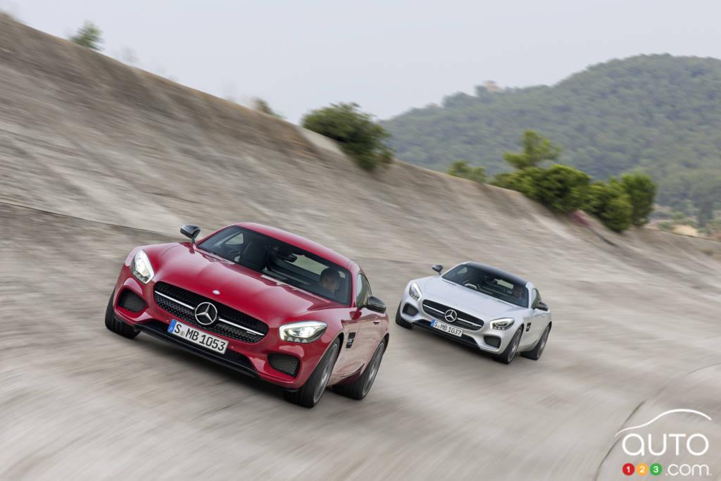 Mercedes-AMG GT S 2016 : premières impressions