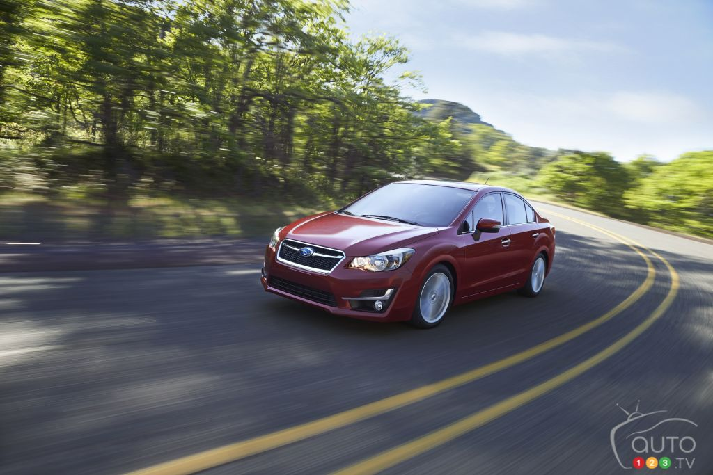 Subaru Impreza 2015 : premières impressions