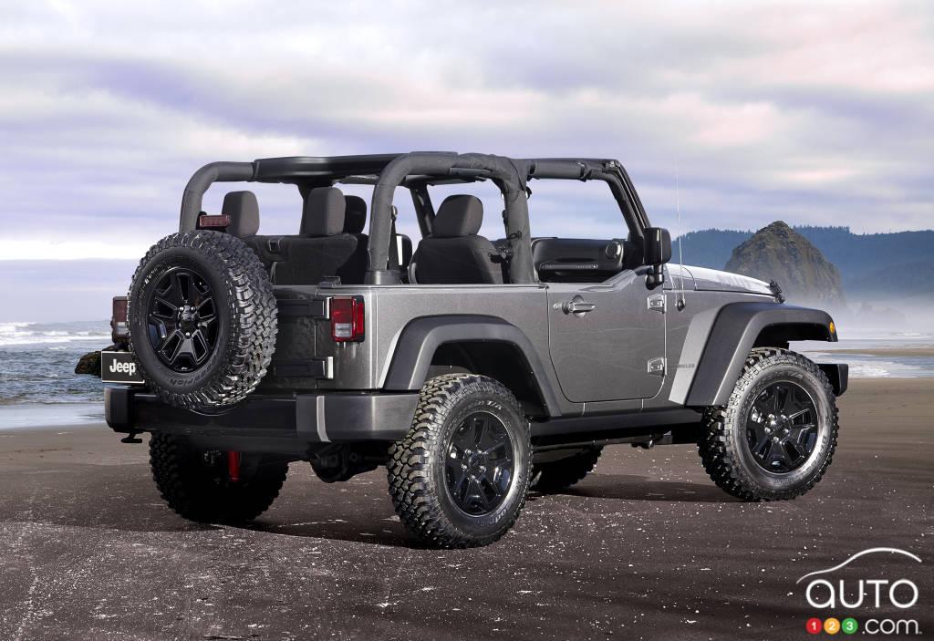 Une boîte automatique à 8 rapports pour le Jeep Wrangler 2018?