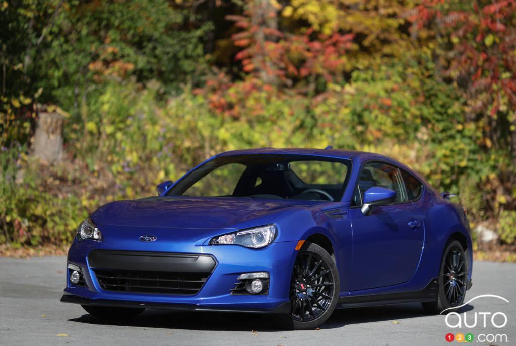 2015 Subaru BRZ Aozora Review