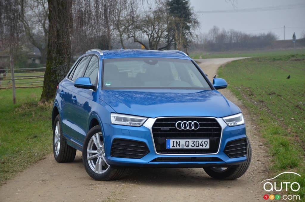 Audi Q3 2016 : premières impressions