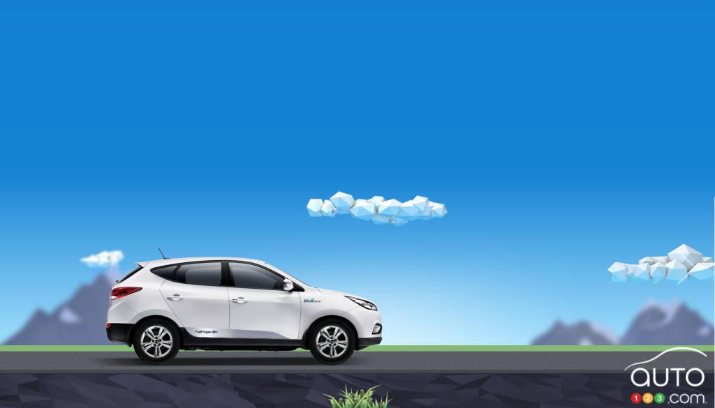Hyundai Tucson Canada >> Le Hyundai Tucson à pile à combustible offert au Canada en ...