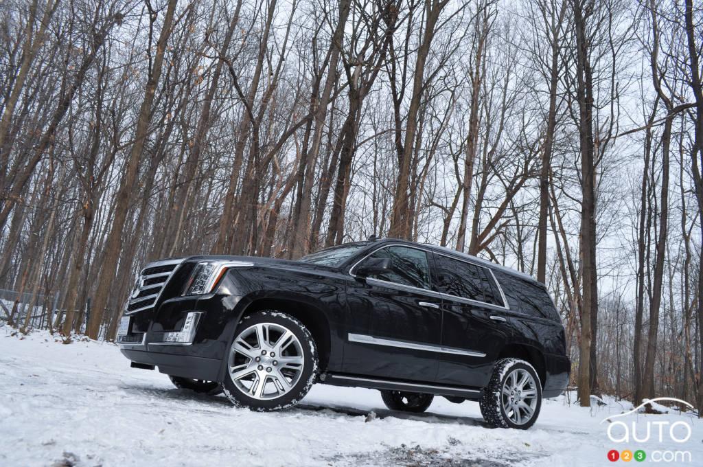 2015 Cadillac Escalade Premium Review