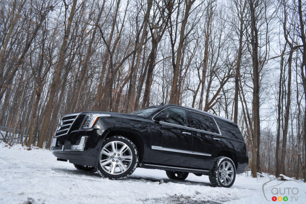 2015 Cadillac Escalade Premium Review
