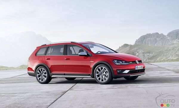 Volkswagen confirms Golf Alltrack coming to Canada