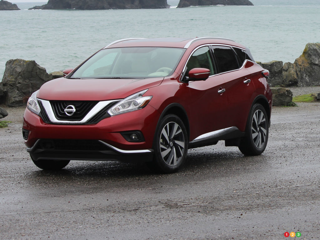 2015 nissan murano first impression editor 39 s review auto123. Black Bedroom Furniture Sets. Home Design Ideas