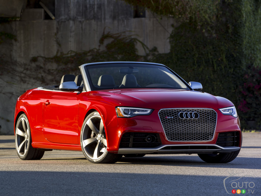 2015 Audi Rs5 Coupe Cabriolet Preview Car News Auto123