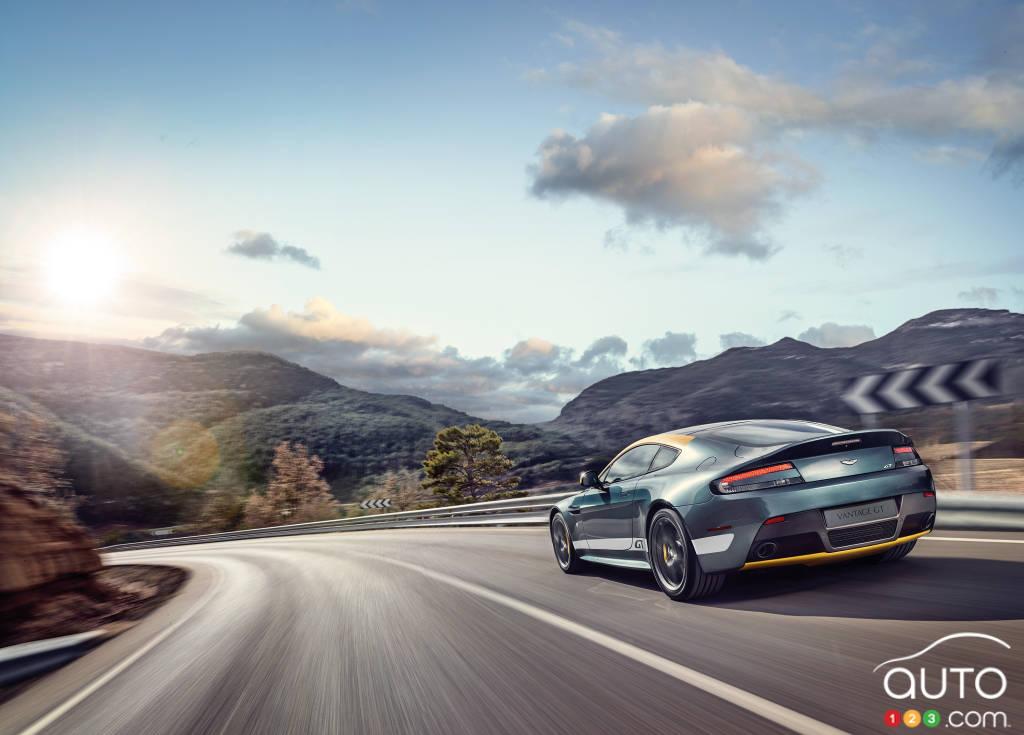 2015 Aston Martin V8 Vantage GT Preview