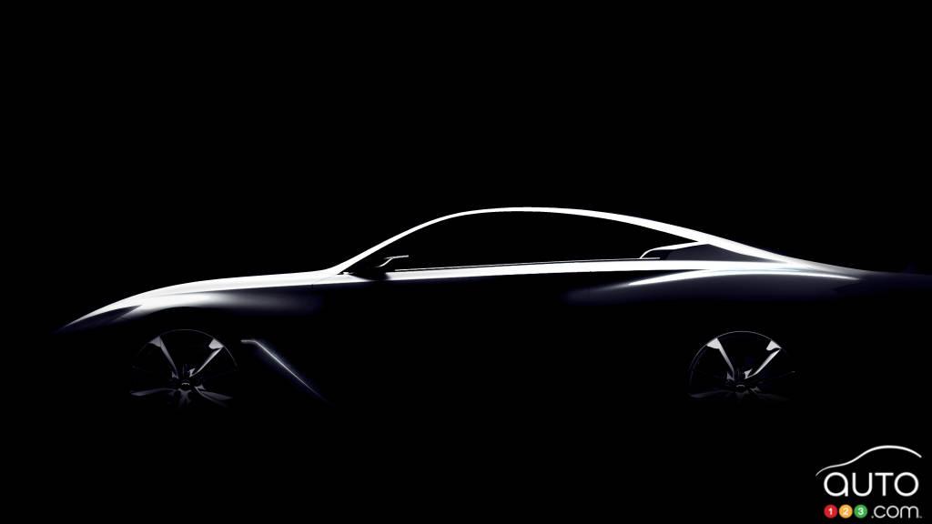 Infiniti prepares Q60 Concept for Detroit Auto Show