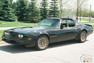 Smokey and the Bandit Trans Am sold for US$450,000