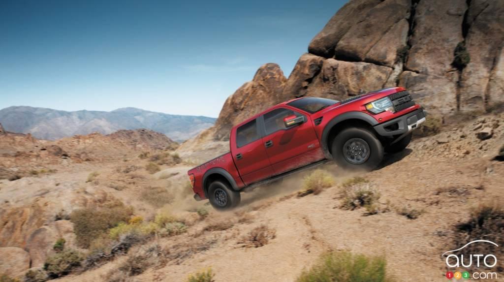 Detroit 2015 : Ford dévoilera son F-150 SVT Raptor et sa Focus RS