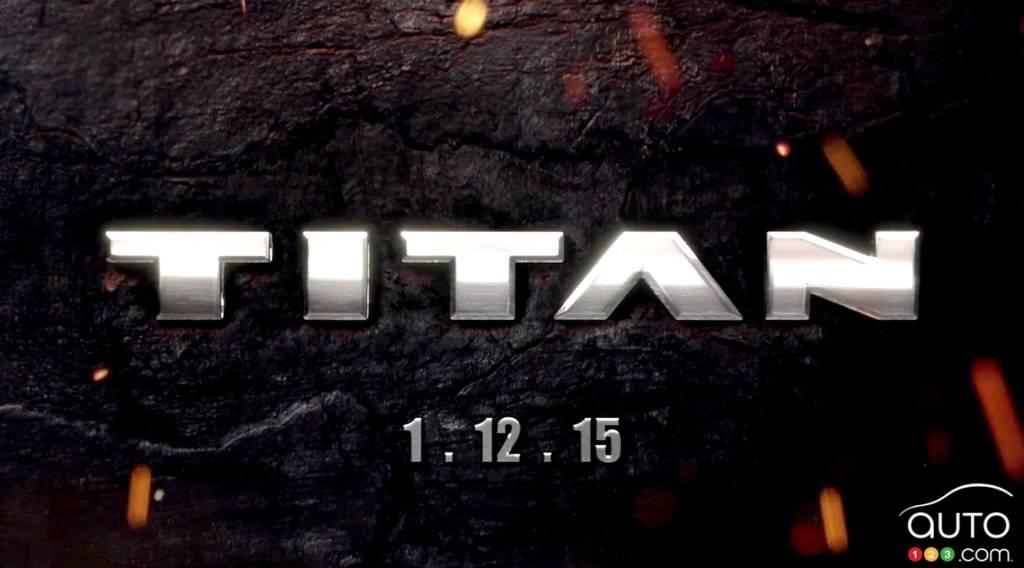 Detroit 2015: le nouveau Nissan Titan fera ses débuts (vidéo)