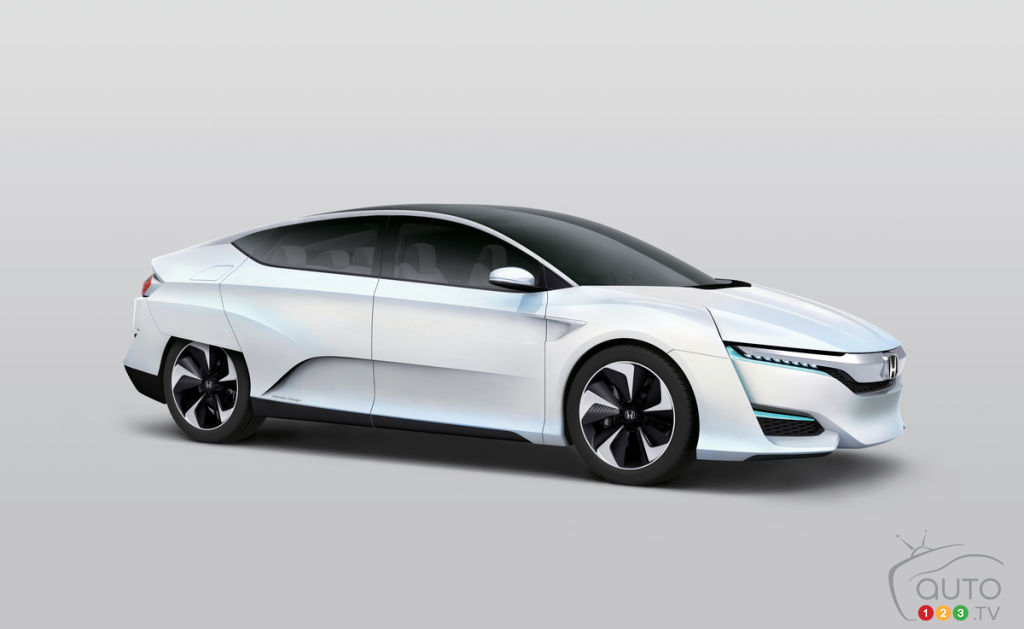 2015 NAIAS: The North-American premier of the Honda FCV Concept