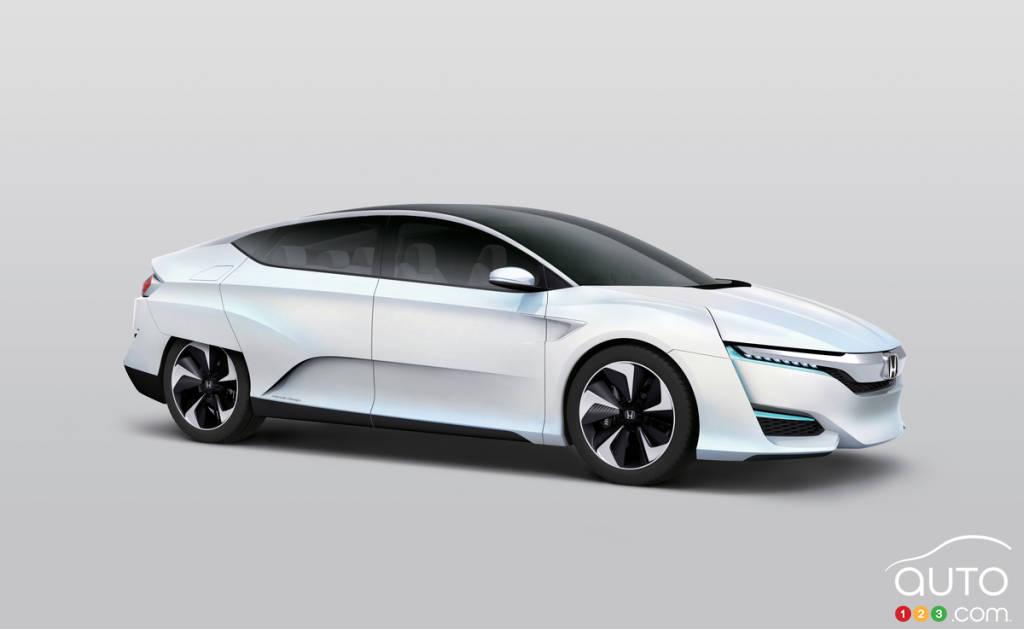Detroit 2015: le concept Honda FCV en première nord-américaine