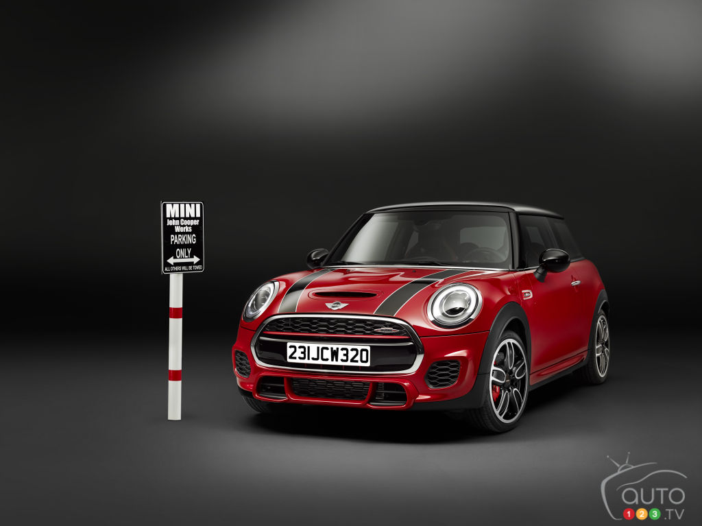 New MINI John Cooper Works to debut at Detroit Auto Show
