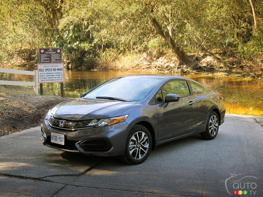 2014 Honda Civic Coupe First Impressions