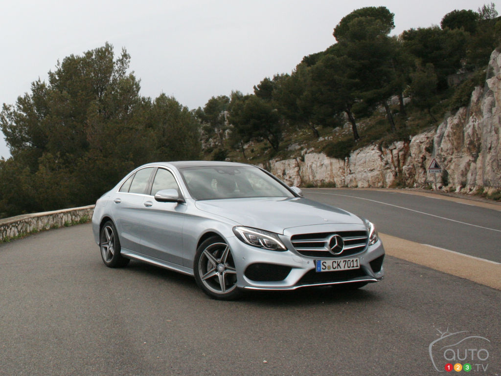 2015 mercedes benz c class car news auto123 for New 2015 mercedes benz c class