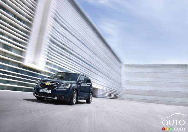 2014 Chevrolet Orlando Preview