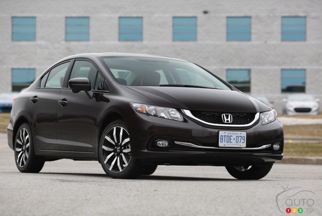 2014 Honda Civic Touring Review Editor S Review Car Reviews Auto123