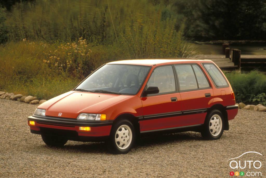 Honda Civic Dr Std Wd Wagon Pic Fr on 1989 Hyundai Elantra