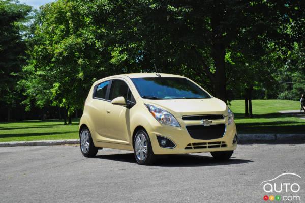 2014 Chevrolet Spark Review
