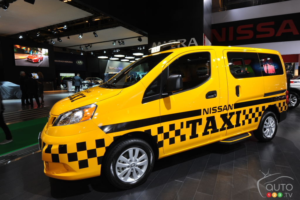 nissan nv200 taxi 2015 essais routiers auto123. Black Bedroom Furniture Sets. Home Design Ideas