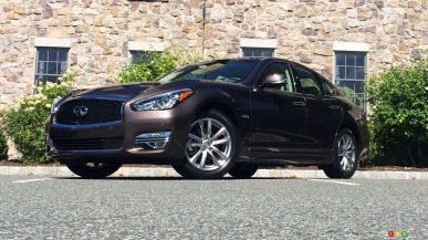 2015 Infiniti Q70L 5.6 AWD First Impression