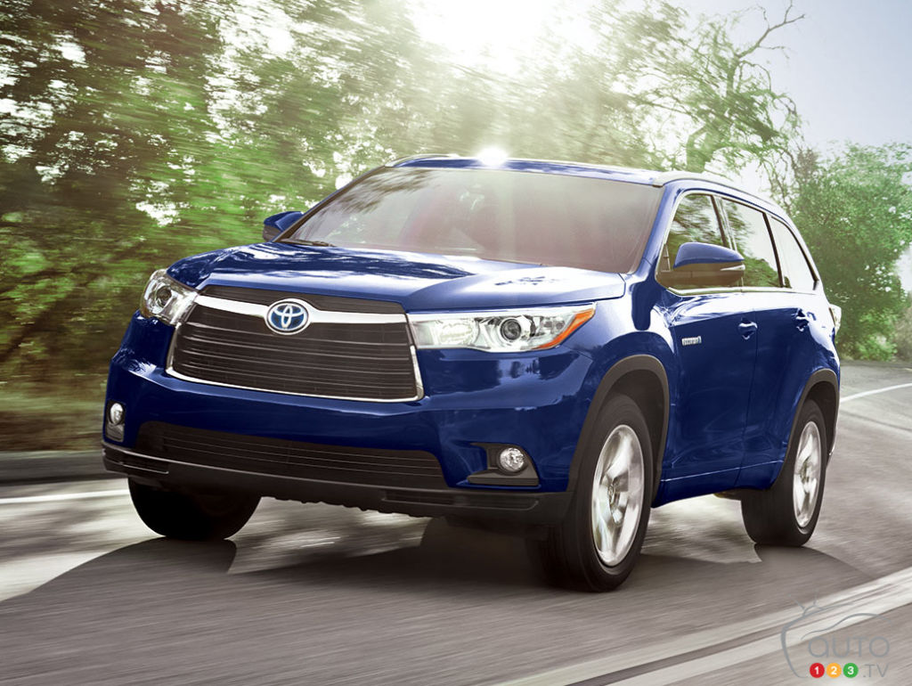 2015 toyota highlander hybrid preview car news auto123. Black Bedroom Furniture Sets. Home Design Ideas