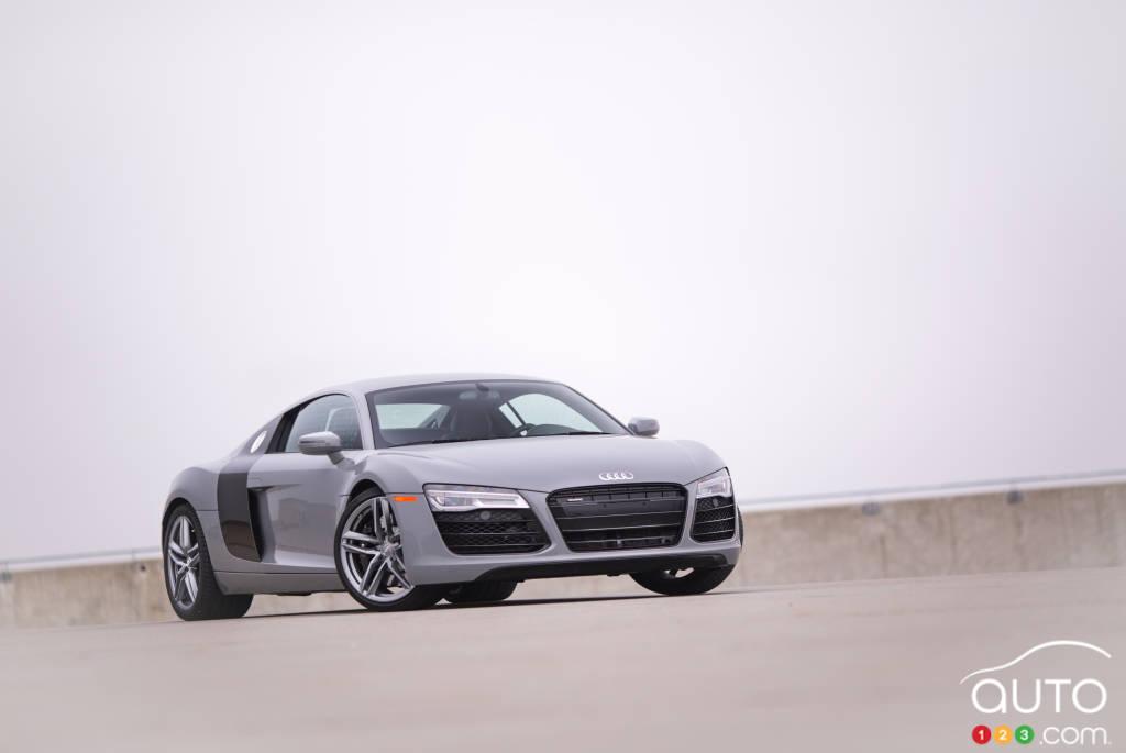Audi R8 V8 2015 : essai routier