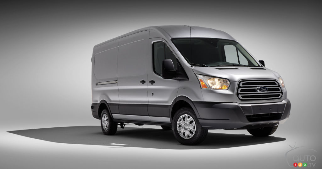 2015 Ford Transit 250 MR Van Review