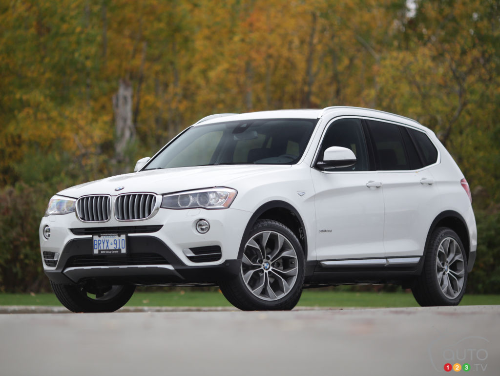 2015 bmw x3 xdrive 28d review car news auto123. Black Bedroom Furniture Sets. Home Design Ideas