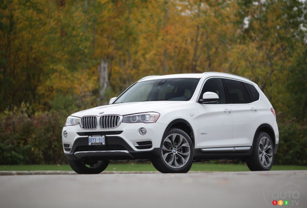 2015 BMW X3 xDrive 28d Review