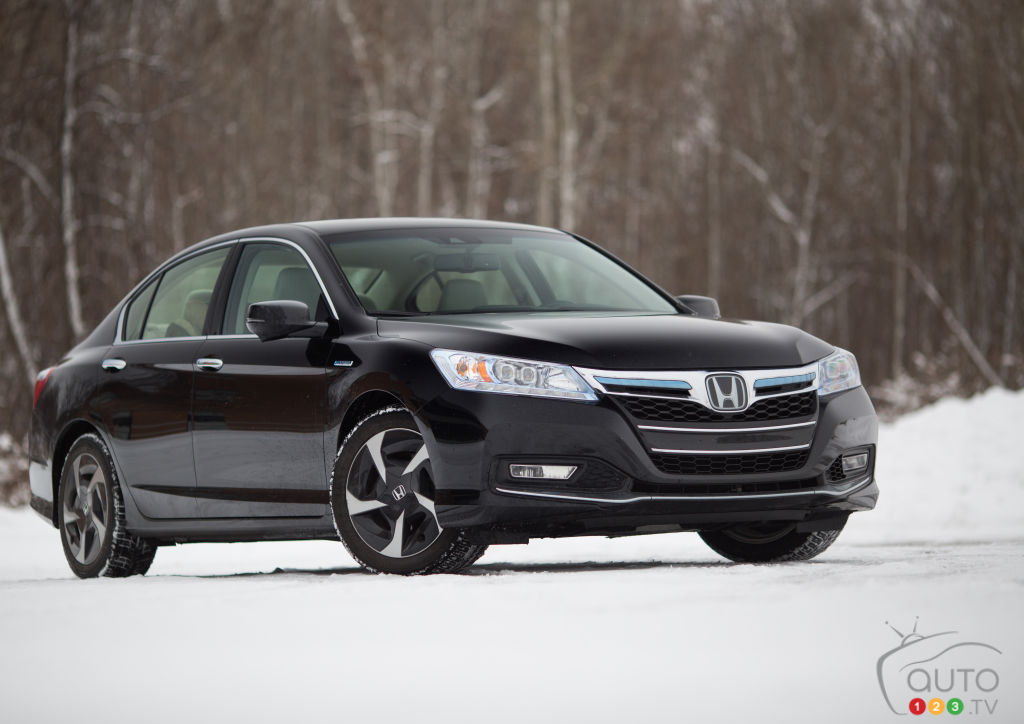 Honda Accord hybride rechargeable 2014 : essai routier