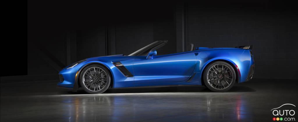 La première Chevrolet Corvette Z06 décapotable 2015 vendue 800 000 $US aux enchères