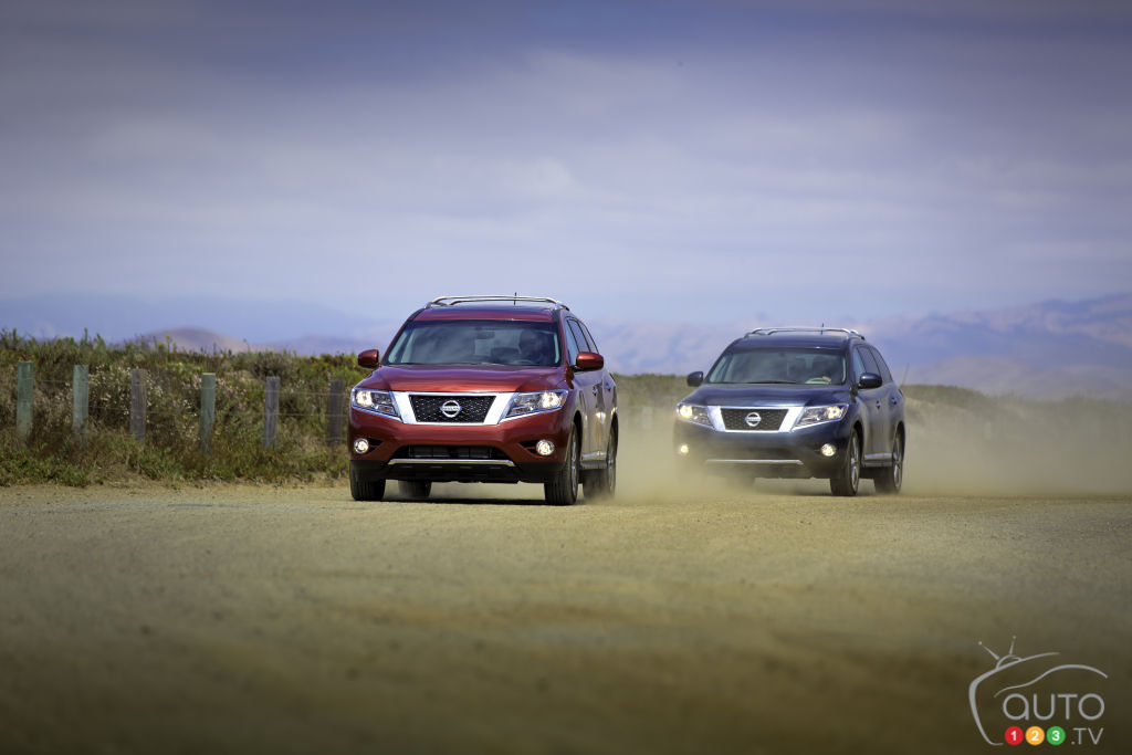 2015 Nissan Pathfinder Preview