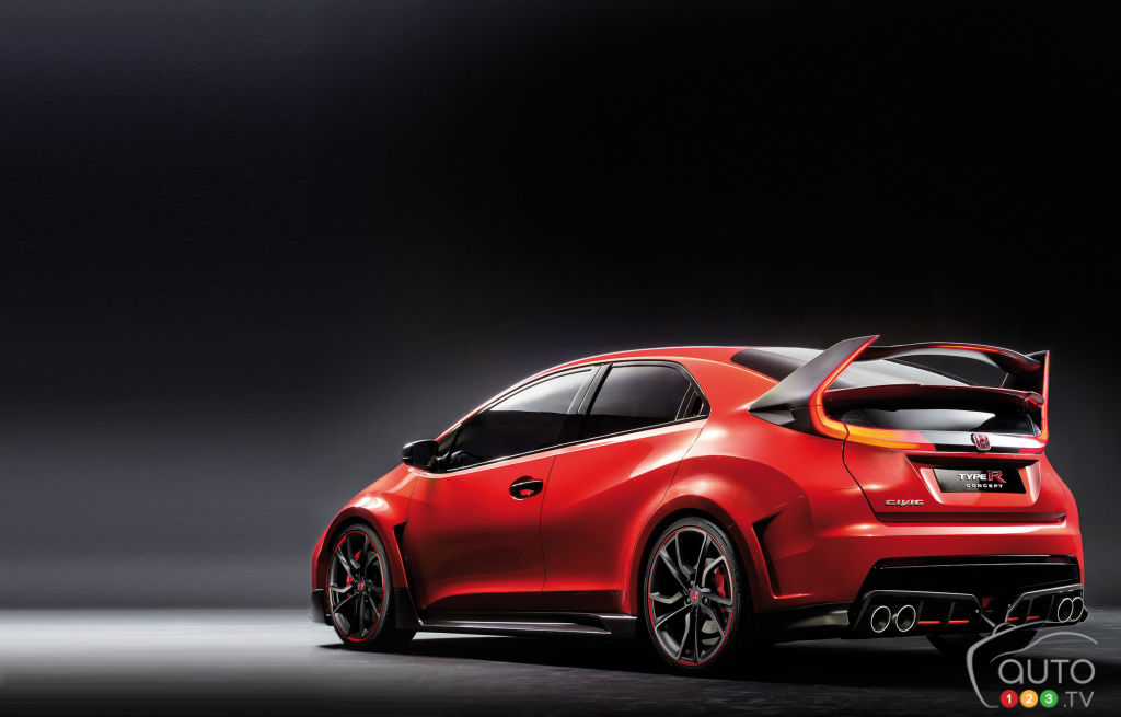 Honda's Geneva lineup to include production Civic Type R