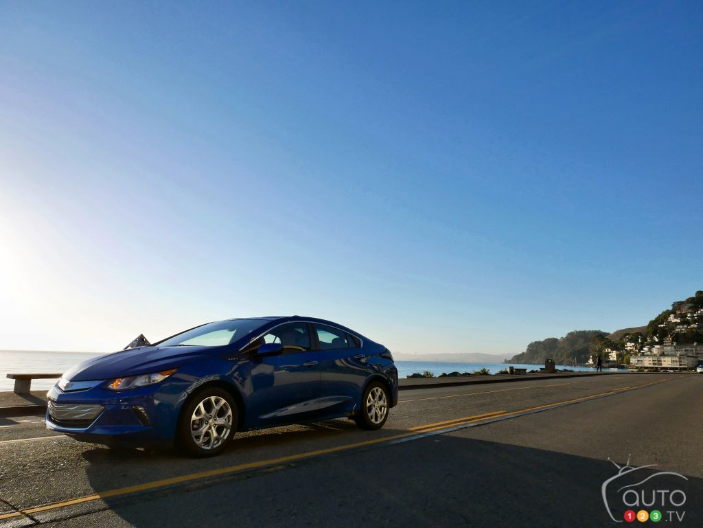 2016 Chevrolet Volt  First Drive