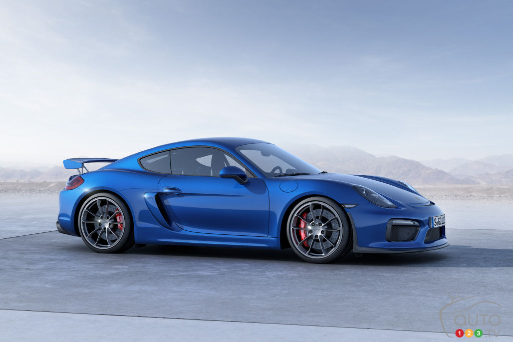 Cayman Clubsport For Sale >> New Porsche Cayman GT4 Clubsport to make racing fans happy | Car News | Auto123