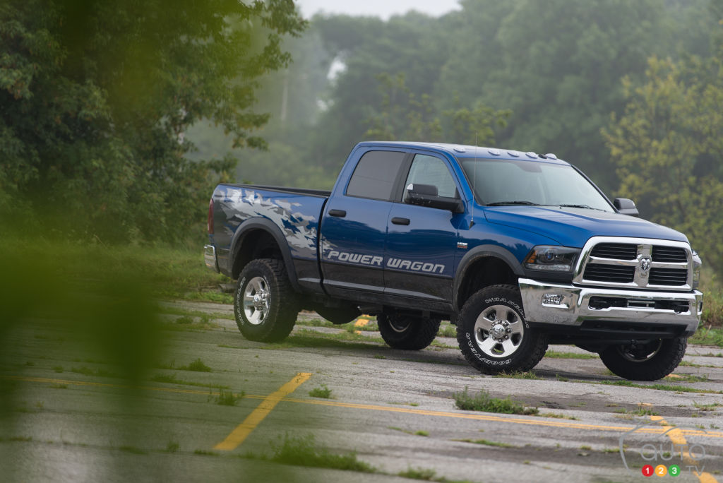 Driving the 2015 RAM Power Wagon or Mt. Everest | Car ...