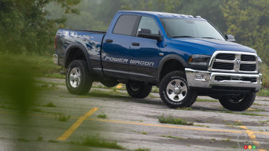 2015 RAM 2500 Power Wagon 4x4 Crew Cab Review