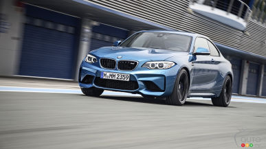 All-new 2016 BMW M2 Coupe revealed